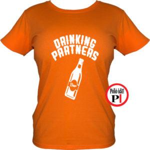 ivós póló partner női narancs