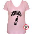 ivós póló partner női pink