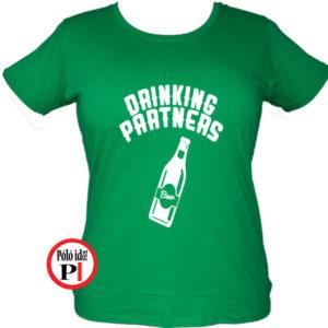 ivós póló partner női zöld