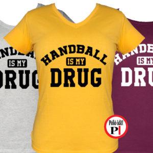kézilabdás póló drog női