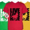 lovas póló live love ride