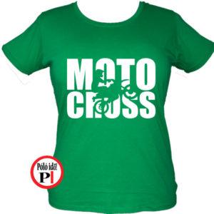 Női Motocross Póló
