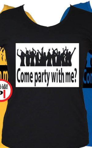 női party póló