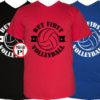 férfi volleyball röplabda póló