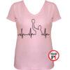 női ekg vizilabda póló pink