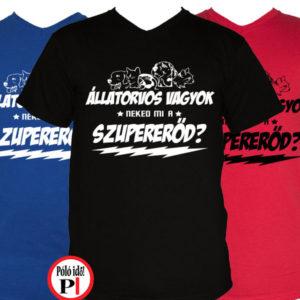 állatorvos póló szupererő