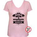 ápoló póló nem tudsz megijeszteni női pink
