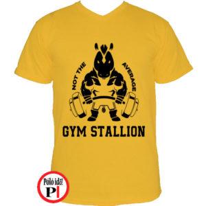edző póló nem az átlagos citrom