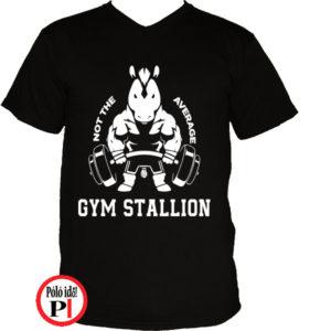 edző póló nem az átlagos fekete