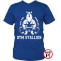 edző póló nem az átlagos kék