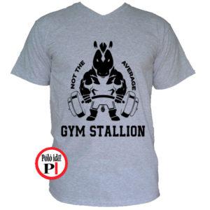 edző póló nem az átlagos szürke