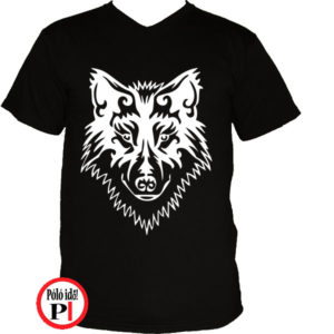 farkas póló alfa fekete