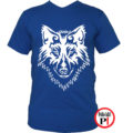 farkas póló alfa kék