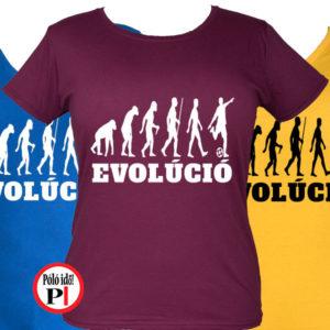 foci póló evolúció női