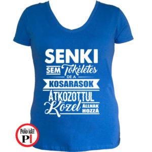 ffd8e7e5f8 Női Tökéletes Kosaras - Pólóidő - Egyedi pólók