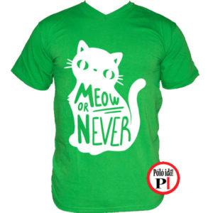 Meow Or Never Póló