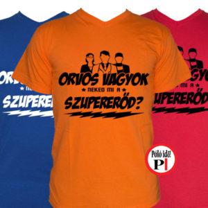 orvos póló szupererő