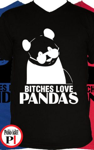 panda póló bitches