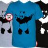 panda póló pisztoly