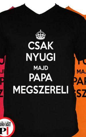 papa póló szerelő