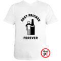 páros póló alkoholista barátok fehér