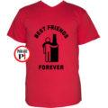 páros póló alkoholista barátok piros