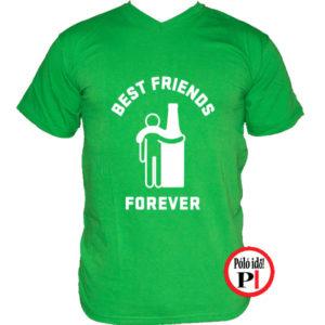 páros póló alkoholista barátok zöld