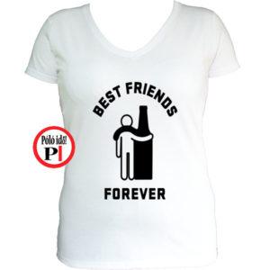 páros póló alkoholista barátok női fehér
