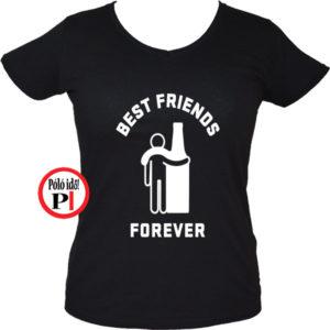 páros póló alkoholista barátok női fekete