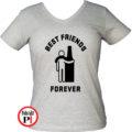 páros póló alkoholista barátok női szürke