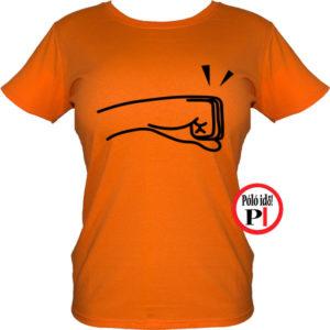 páros póló balos női naranc