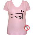 páros póló balos női pink