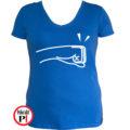 páros póló balos női kék