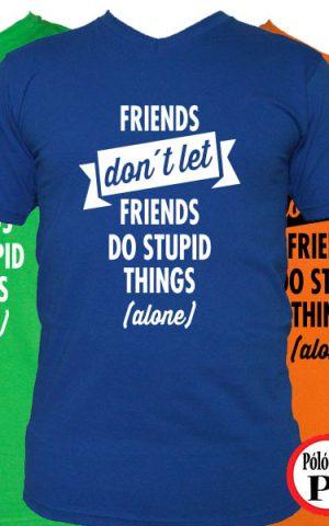 páros póló egyedül