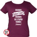 páros póló egyedül női burgundi
