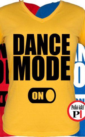 tánc póló on női
