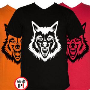 állat póló fakas három
