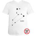 horoszkóp póló leo fehér