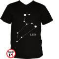 horoszkóp póló leo fekete
