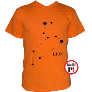 horoszkóp póló leo narancs