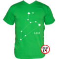 horoszkóp póló leo zöld