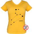 horoszkóp póló leo női citrom