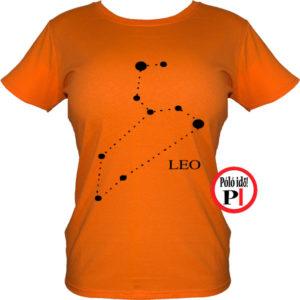 horoszkóp póló leo női narancs