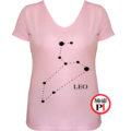 horoszkóp póló leo női pink