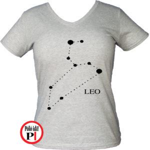 horoszkóp póló leo női szürke