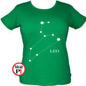 horoszkóp póló leo női zöld