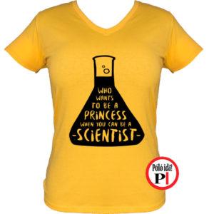 kémikus póló hercegnő citrom
