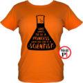 kémikus póló hercegnő narancs