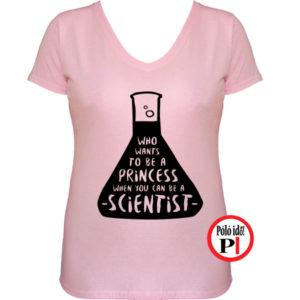 kémikus póló hercegnő pink