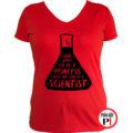 kémikus póló hercegnő piros